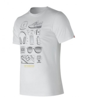 CAMISETA NB MT81544 WT